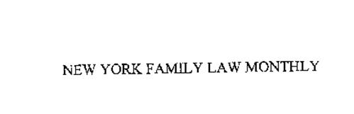 NEW YORK FAMILY LAW MONTHLY