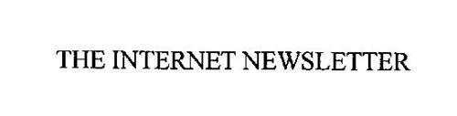 THE INTERNET NEWSLETTER