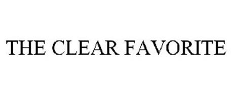 THE CLEAR FAVORITE