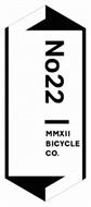 NO22 MMXII BICYCLE CO.