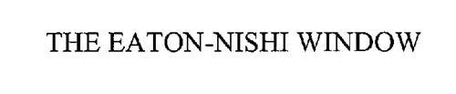 THE EATON-NISHI WINDOW