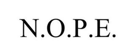 N.O.P.E.