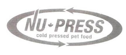 NU PRESS COLD PRESSED PET FOOD