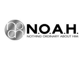 NOAH N.O.A.H NOTHING ORDINARY ABOUT HIM