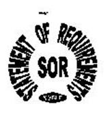 SOR STATEMENT OF REQUIREMENTS NOBLE