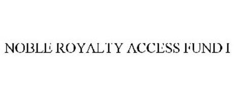 NOBLE ROYALTY ACCESS FUND I