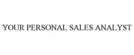YOUR PERSONAL SALES ANALYST
