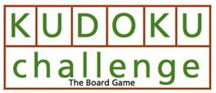 KUDOKU CHALLENGE THE BOARD GAME