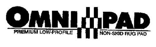 OMNI PAD PREMIUM LOW-PROFILE NON-SKID RUG PAD