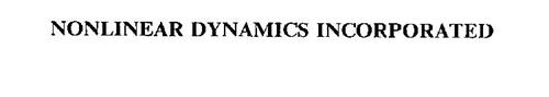 NONLINEAR DYNAMICS INCORPORATED