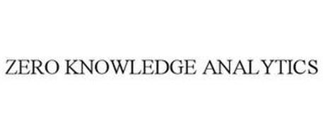 ZERO KNOWLEDGE ANALYTICS