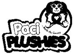 PACI PLUSHIES ...HUSH THE FUSSIES