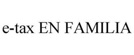 E-TAX EN FAMILIA