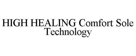 HIGH HEALING COMFORT SOLE TECHNOLOGY