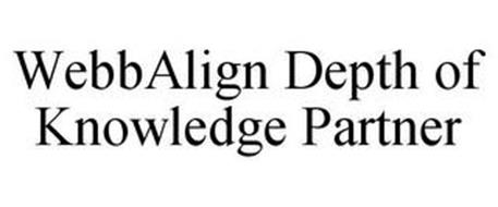 WEBBALIGN DEPTH OF KNOWLEDGE PARTNER; WEB ALIGN DEPTH OF KNOWLEDGE PARTNER