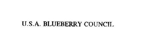U.S.A. BLUEBERRY COUNCIL