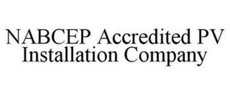 NABCEP ACCREDITED PV INSTALLATION COMPANY
