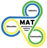 MAT MANUFACTURING ADVISORY TEAM EDUCATION INDUSTRY COMMUNITY