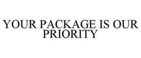 YOUR PACKAGE IS OUR PRIORITY