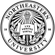 NORTHEASTERN UNIVERSITY 1898 LVX VERITAS VIRTVS