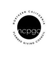 NORTHERN CALIFORNIA PLANNED GIVING COUNCIL NCPGC