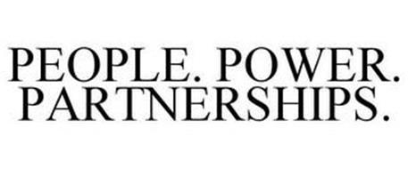 PEOPLE. POWER. PARTNERSHIPS.