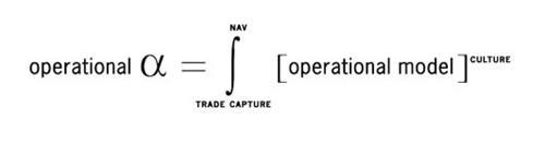 OPERATIONAL NAV TRADE CAPTURE OPERATING MODEL CULTURE