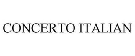 CONCERTO ITALIAN