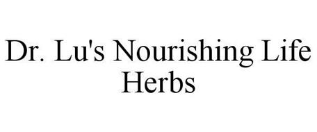 DR. LU'S NOURISHING LIFE HERBS