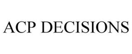 ACP DECISIONS