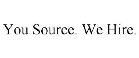 YOU SOURCE. WE HIRE.