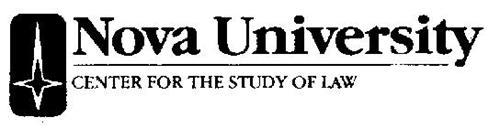 NOVA UNIVERSITY/CENTER FOR THE STUDY OF LAW