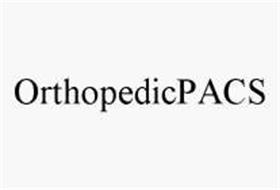 ORTHOPEDICPACS