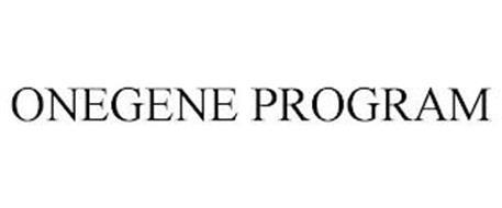 ONEGENE PROGRAM