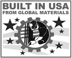 BUILT IN USA FROM GLOBAL MATERIALS
