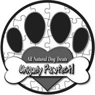 ALL NATURAL DOG TREATS UNIQUELY PAWFECT!