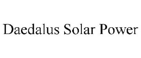 DAEDALUS SOLAR POWER