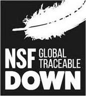 NSF GLOBAL TRACEABLE DOWN