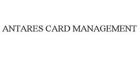 ANTARES CARD MANAGEMENT