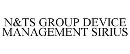 N&TS GROUP DEVICE MANAGEMENT SIRIUS