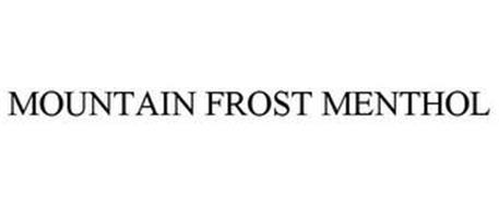 MOUNTAIN FROST MENTHOL
