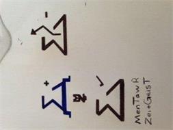 MENTAWR ZEITGEIST +, - , CHECK MARK