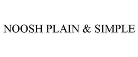 NOOSH PLAIN & SIMPLE