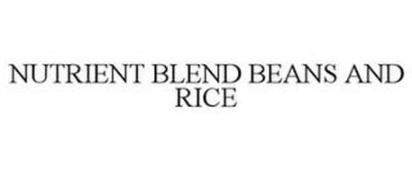 NUTRIENT BLEND BEANS AND RICE