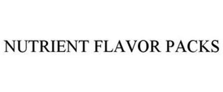 NUTRIENT FLAVOR PACKS
