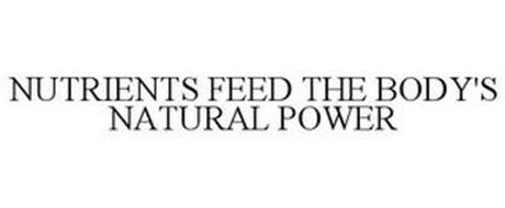 NUTRIENTS FEED THE BODY'S NATURAL POWER