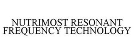 NUTRIMOST RESONANT FREQUENCY TECHNOLOGY