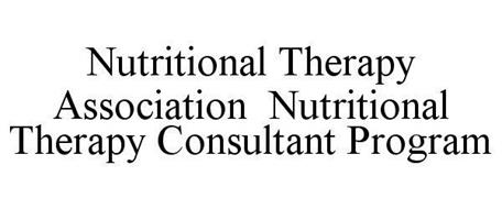 NUTRITIONAL THERAPY ASSOCIATION NUTRITIONAL THERAPY CONSULTANT PROGRAM