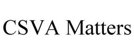CSVA MATTERS