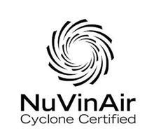NUVINAIR CYCLONE CERTIFIED